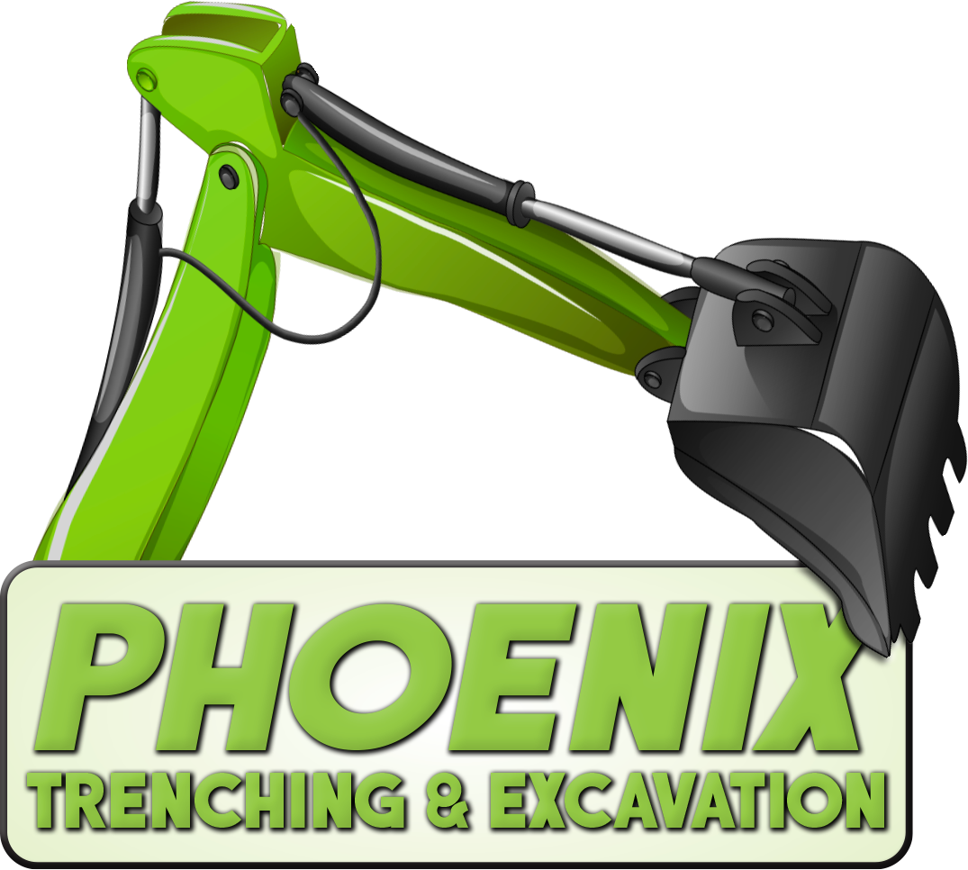 Phoenix Trenching Excavating Logo